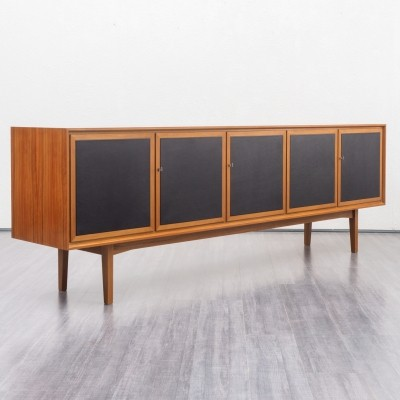 Gorgeous 1960s walnut sideboard with cassette doors