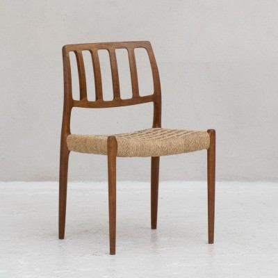 Model 83 dining chair by Niels Otto Moller for J.L. Moller, Denmark 1960