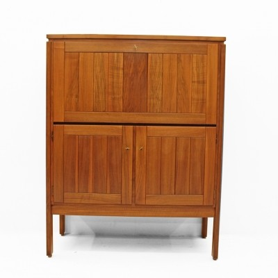 Bar cabinet in nutwood by Jos De Mey for Van den Berghe Pauvers
