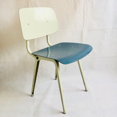 2 x Revolt dinner chair by Friso Kramer for Ahrend de Cirkel, 1960s