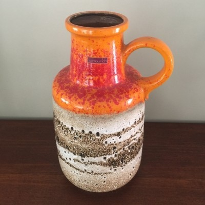 408-40 vase by Scheurich Germany, 1970s