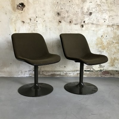 Pair of Spirit dinner chairs by Hajime Oonishi for Artifort, 1970s