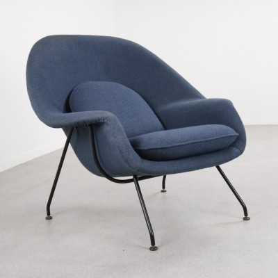 Early production Womb chair by Eero Saarinen for Knoll International, 1950s