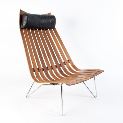 Hove Mobler Scandia Senior Lounge Chair by Hans Brattrud