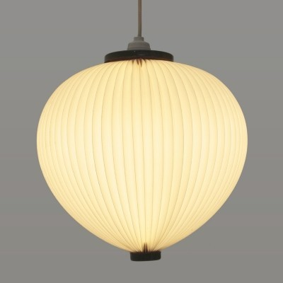Danish pendant lamp by Esben Klint for Le Klint, 1950s