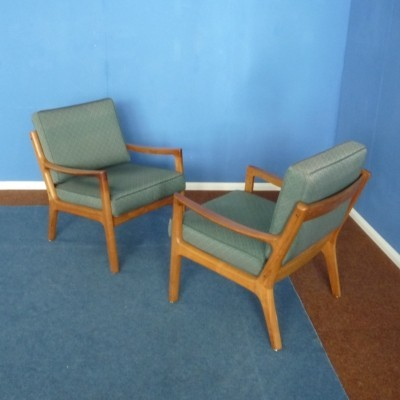 Senator Teak Chairs by Ole Wanscher for France & Søn, 1960s
