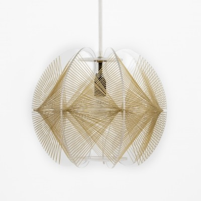 Swag hanging lamp by Paul Secon, 1960s