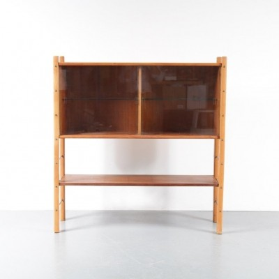1950s Birch with walnut cabinet by William Watting for Fristho