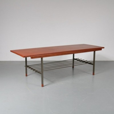 1950s Reversible top coffee table by De Ster Gelderland