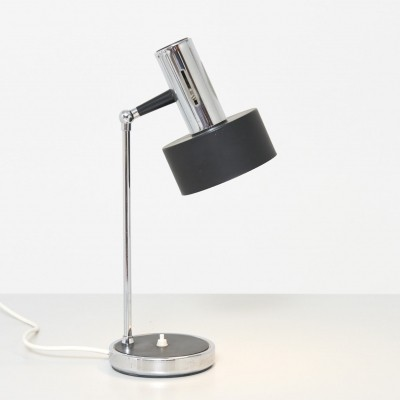 Table Lamp with Cylindrical Shade, 1960s