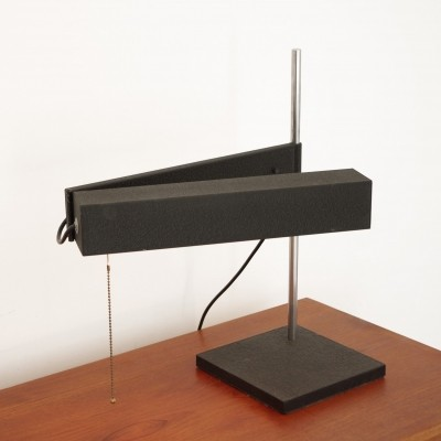 Saffa desk lamp by Dieter Waeckerlin for Idealheim, 1950s