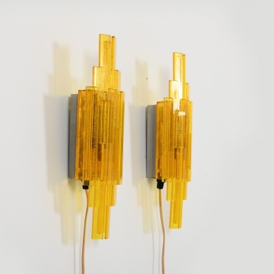 Pair of Wall Lamps by Claus Bolby for Holm Sørensen & Co. 1960s