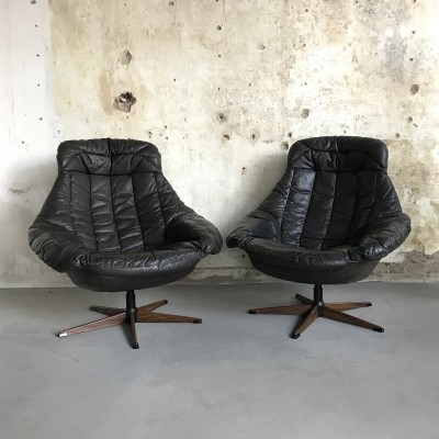 Vintage 'Silhouette' Lounge Chairs by H.W. Klein for Bramin Mobler, 1960s