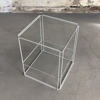 Vintage Two-Tier 'Isocele' Table by Max Sauze for Atrow, France 1970s