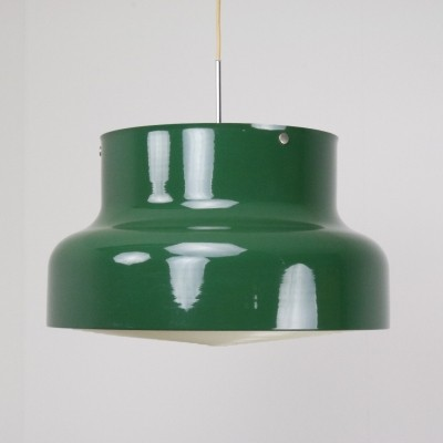 Oversized Bumling hanging lamp by Anders Pehrson for Ateljé Lyktan, 1968