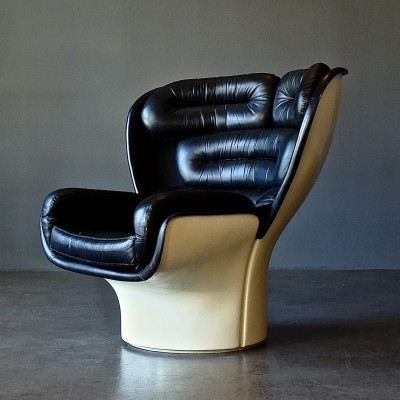 Elda lounge chair by Joe Colombo for Comfort, 1960s