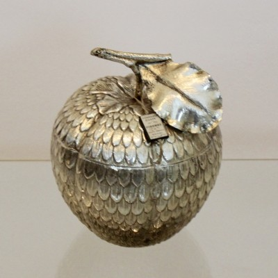 Silver 'Apple' Ice Bucket by Mauro Manetti, Italy