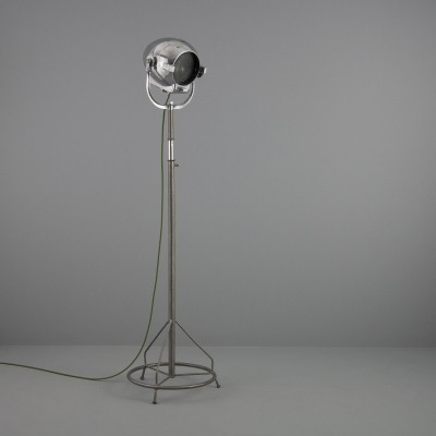 Vintage industrial Stand projector floor light