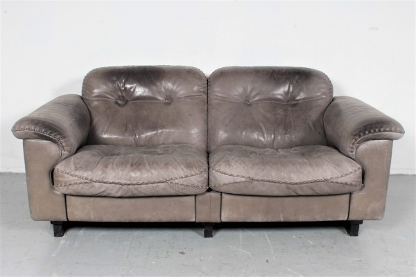 De Sede DS-101 (2 seater) sofa, 1970s