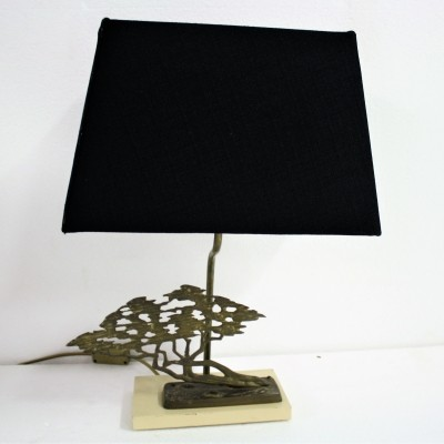 Brass Bonsai Table Lamp, 1970s