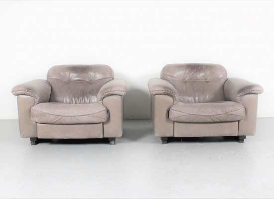 3 x DS-101 arm chair by De Sede, 1970s