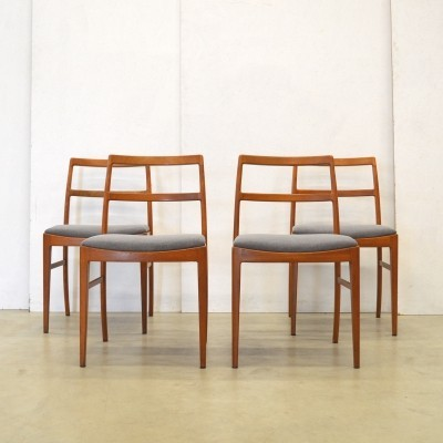 Set of 4 model 430 dining chairs by Arne Vodder for Sibast, 1960s