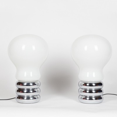 Large 'Bulb' lamps by Ingo Maurer