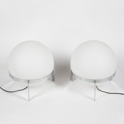 Iconic 'La Ligne' table lamp designed by Alfred Hablützel