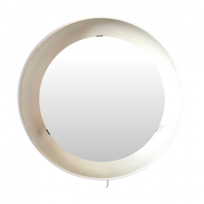 Backlit mirror by Poul Henningsen for Louis Poulsen, 1960s