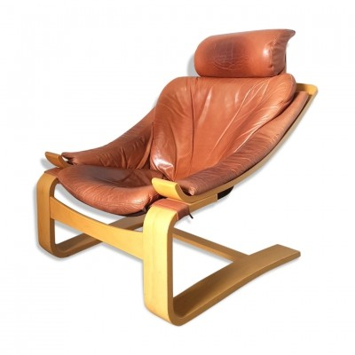 Kroken loungechair by Ake Fribyter for Nelo Sweden, 1970s