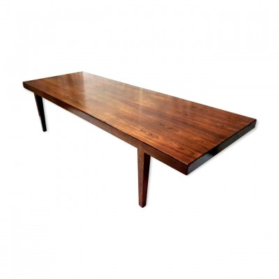 XL rosewood coffee table by Severin Hansen for Bovenkamp, 1960s