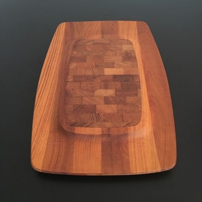 Modern Teak Tray by Jens Quistgaard for Dansk