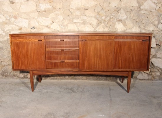 Vintage teak sideboard by White & Newton, 1960s
