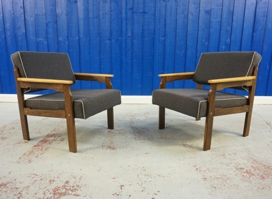 1960's Lounge Chairs, set of 2
