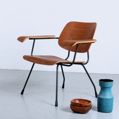 Model 8000 arm chair by Tjerk Reijenga for Pilastro, 1950s