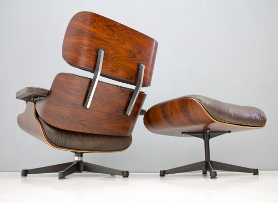 670 + 671 lounge chair by Charles & Ray Eames for Vitra, 1970s
