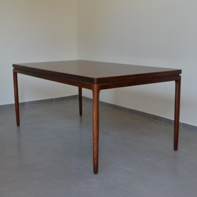 Rosewood extendable dining table by Johannes Andersen, Denmark 1964