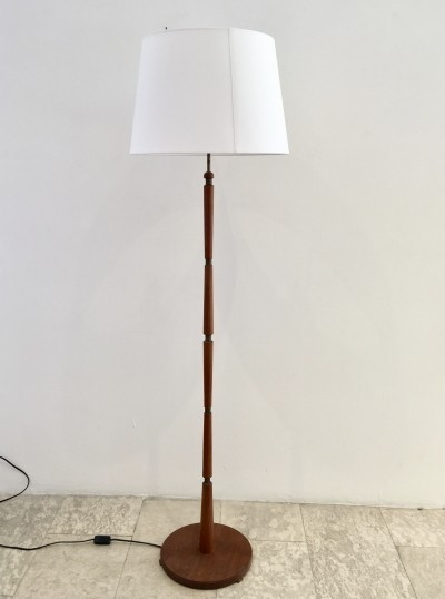Danish Midcentury Teak Floor Lamp
