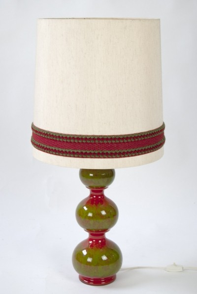 1960s Ceramic Desk Lamp by Kaiser Leuchten Germany