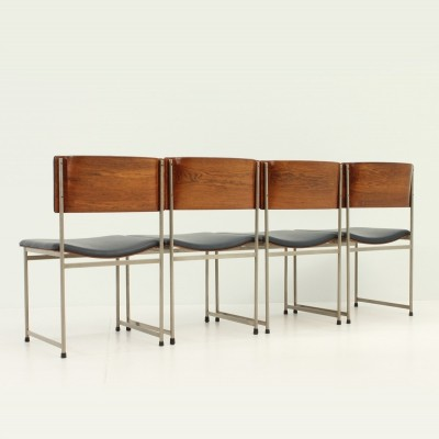 Set of Four SM08 Chairs by Cees Braakman for Pastoe
