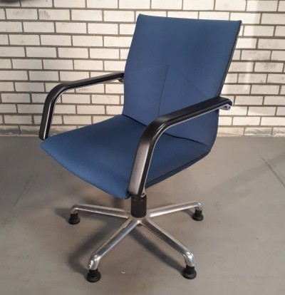 Set of 6 Artifort office chairs, 1980s