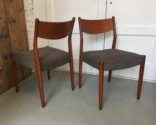 Set of 4 Fristho dinner chairs, 1950s
