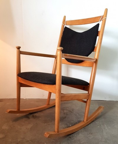 Danish rocking chair by Niels Eilersen, 1960s