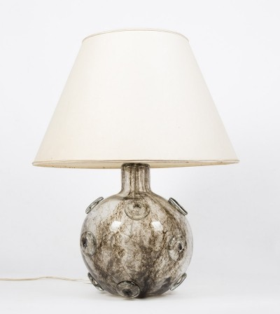 Large version of the classic 'Crepuscolo' glass lamp from Barovier & Toso