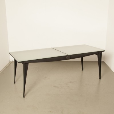 2 x TM 03 dining table by Pierre Mazairac & Karel Boonzaaijer for Hennie de Jong International Collections, 1980s