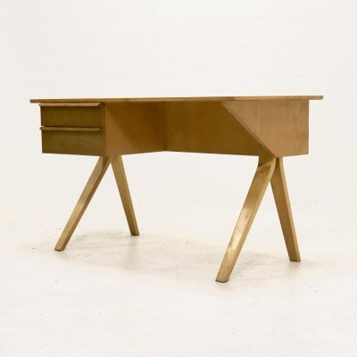 Pastoe EB02 Birch Series Desk by Cees Braakman, 1950's