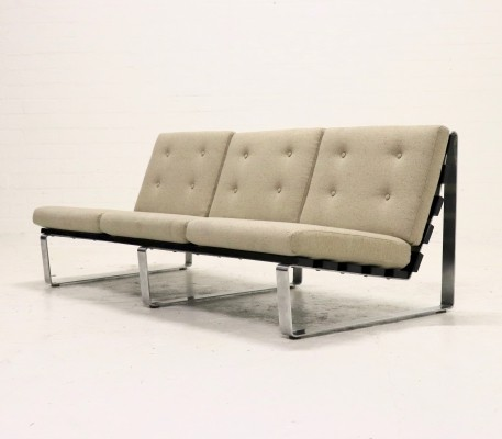 Rare 3 Seater Sofa by Kho Liang le for Artifort (Bijenkorf), 1960's