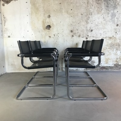 Mid-Century Modern Cantilever Chairs by Eero Aarnio for Mobel Italia, 1970s