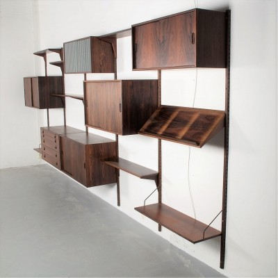 Exclusive & Rare Palisander wall unit by Rud Thygesen & Johnny Sorensen