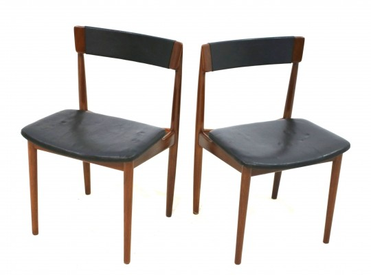 Pair of Model 39 Chairs by Henry Rosengren Hansen for Brande Møbelindustri